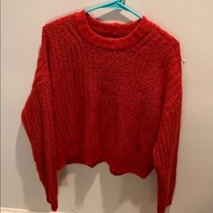 american eagle chunky sweater